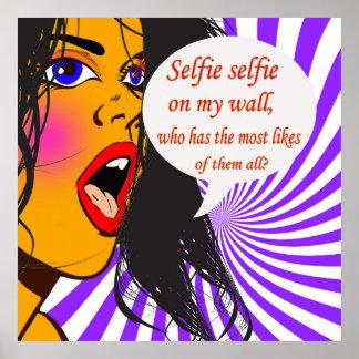 Selfie,Selfie, Poster