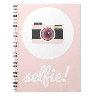 Selfie sign! spiral notebook