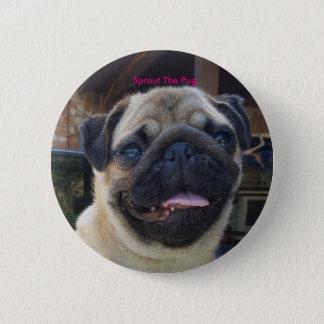 Selfie Smile Pinback Button