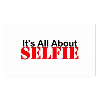 Selfie Tarjetas De Visita