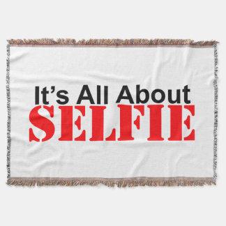 Selfie Throw Blanket