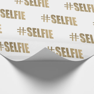# SELFIE WRAPPING PAPER