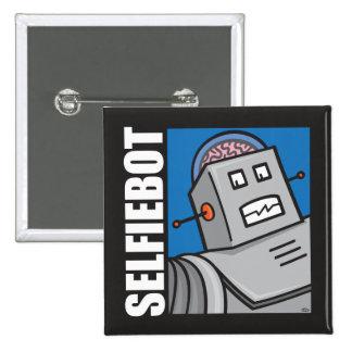 SELFIEBOT - The Robot Selfie Pin