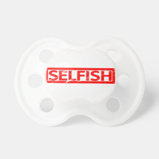 Selfish Stamp Pacifier