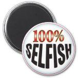 Selfish Tag Fridge Magnets