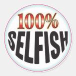 Selfish Tag Sticker