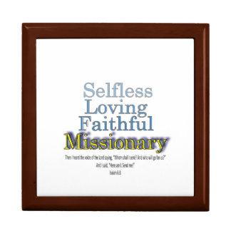 Selfless Loving Faithful Missionary Jewelry Box