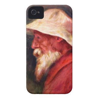 Selfportrait con el gorra blanco de Pedro Renoir Case-Mate iPhone 4 Carcasas