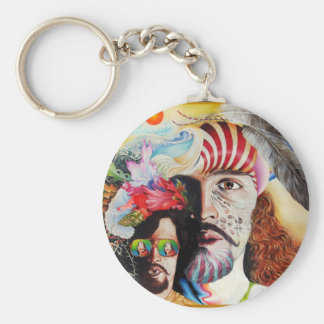 SELFPORTRAIT WITH THE CRITICAL EYE BASIC ROUND BUTTON KEYCHAIN