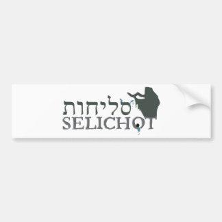 Selichot Bumper Sticker