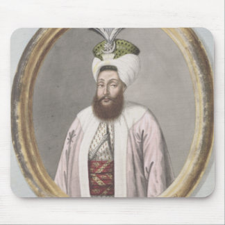 Selim III (1761-1808) Sultan 1789-1807, from 'A Se Mouse Pad