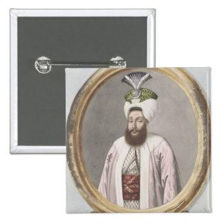 Selim III (1761-1808) Sultan 1789-1807, from 'A Se Pinback Button