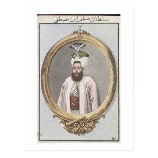 Selim III (1761-1808) Sultan 1789-1807, from 'A Se Postcard
