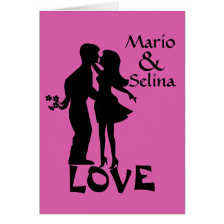 Selina Custom Card