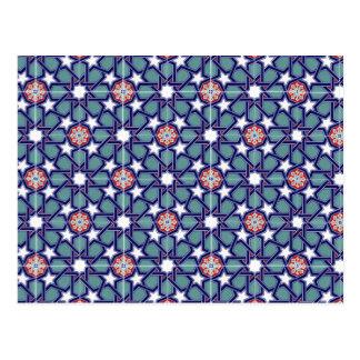 Seljuk Empire Tile Pattern Postcard