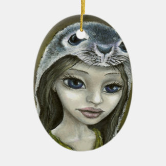Selkie Christmas Ornaments