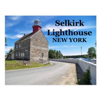 Selkirk Lighthouse, New York Postcard