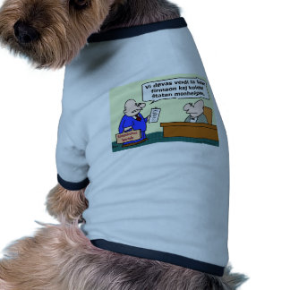 sell business welfare esperanto pet tee