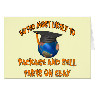 Sell Farts Card