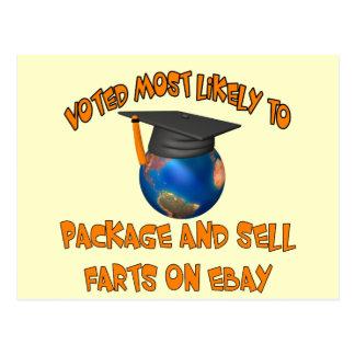 Sell Farts Postcard