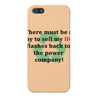 Sell My Hot Flashes Back To Power Co. Iphone 4 Cas iPhone SE/5/5s Cover