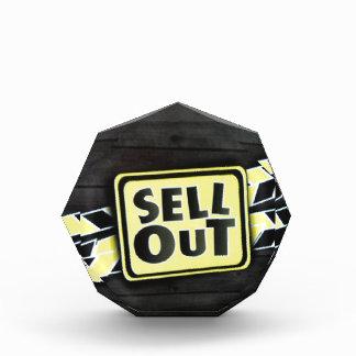 Sell Out Acrylic Award