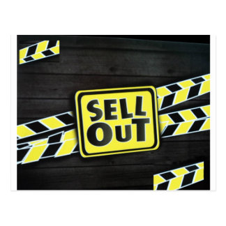 Sell Out Postcard