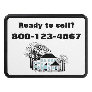 Sell Real Estate Promo Tow Hitch Covers
