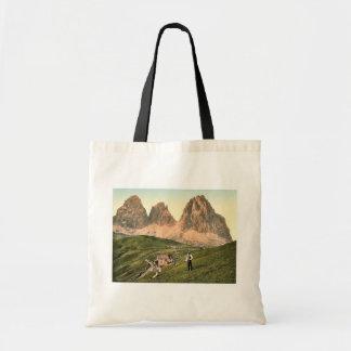 Sella Joch and Langkofl, Tyrol, Austro-Hungary rar Bags