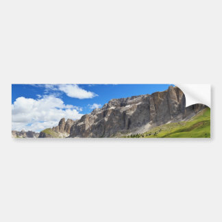 Sella mount and high Gardena valley Bumper Sticker