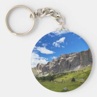 Sella mount and high Gardena valley Keychain
