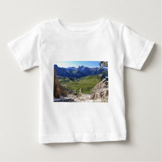 Sella pass from Sassolungo mount Baby T-Shirt