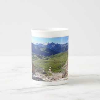 Sella pass from Sassolungo mount Tea Cup