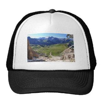 Sella pass from Sassolungo mount Trucker Hat