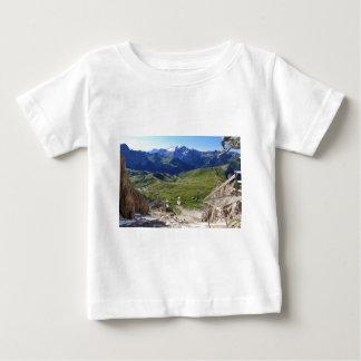 Sella pass from Sassolungo mount Tshirts