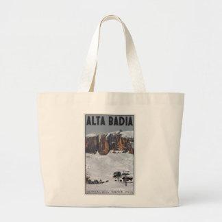Sella Ronda - Alta Badia Canvas Bag