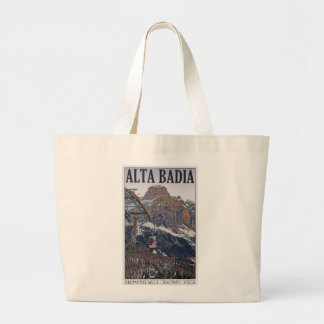 Sella Ronda - Alta Badia Gondola Canvas Bags