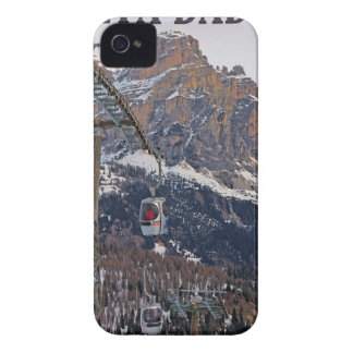 Sella Ronda - Alta Badia Gondola iPhone 4 Case