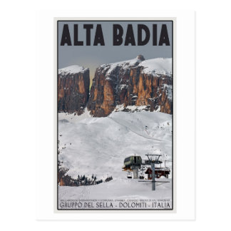 Sella Ronda - Alta Badia Postcard