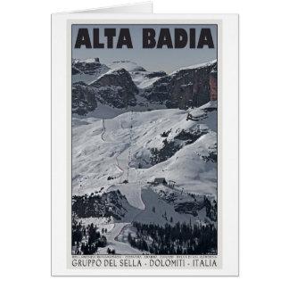 Sella Ronda - Alta Badia Run 20 Greeting Card