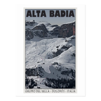 Sella Ronda - Alta Badia Run 20 Postcard