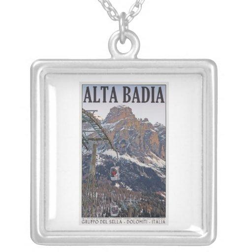 Sella Ronda - góndola de Alta Badia Colgante Cuadrado
