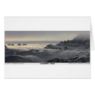 Sella Ronda - Monte Civetta Panorama Greeting Card