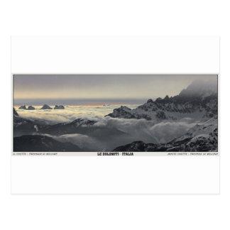 Sella Ronda - Monte Civetta Panorama Postcard
