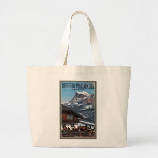 Sella Ronda - Rifugio Pralongia Canvas Bags