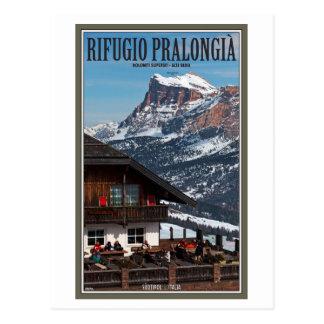 Sella Ronda - Rifugio Pralongia Postcard