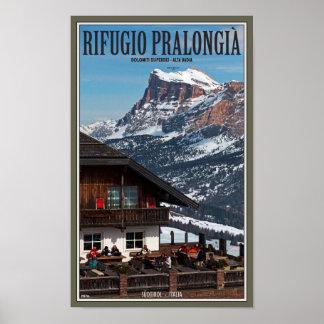 Sella Ronda - Rifugio Pralongia Poster
