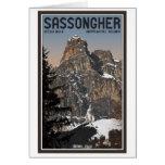 Sella Ronda - Sassongher Card