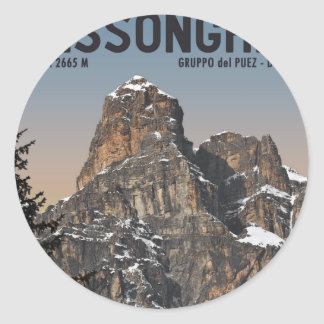 Sella Ronda - Sassongher Stickers