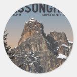 Sella Ronda - Sassongher Stickers